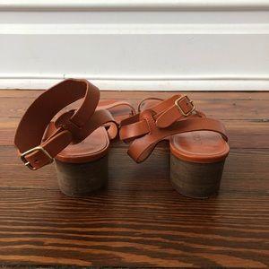 J. Crew Shoes - J.Crew Leather Sandals